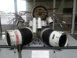 Alex Van Halen's drum kit from 1984. Panama! Hot For Teacher, Jump!